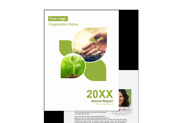 Nonprofit Annual Report Template Fresh Easy to Use Nonprofit Annual Report Template