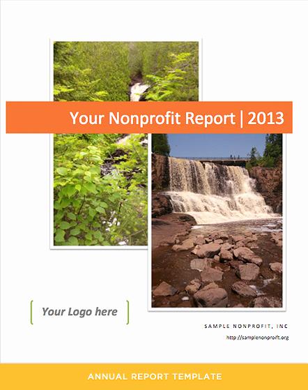 Nonprofit Annual Report Template Luxury Annual Report Template for Nonprofits