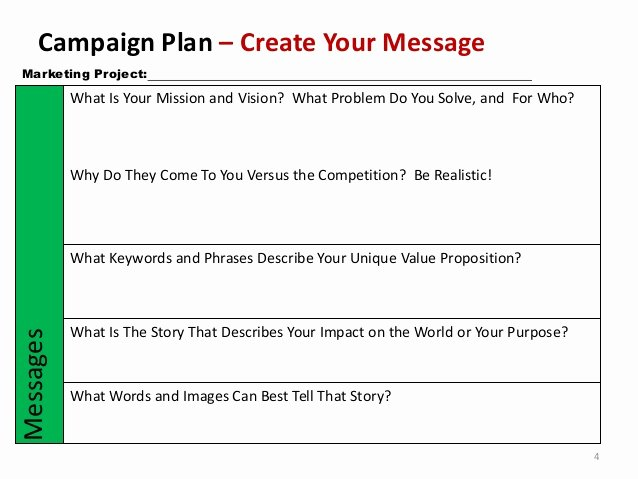 Nonprofit Marketing Plan Template New Non Profit Marketing Campaign Template