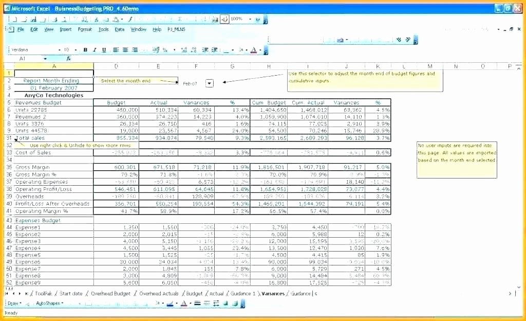 Nonprofit Operating Budget Template Awesome Operating Bud Spreadsheet Sample Nonprofit Operating