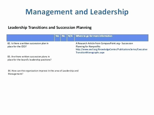 Nonprofit Succession Planning Template Luxury Nonprofit Succession Planning Template Nonprofit