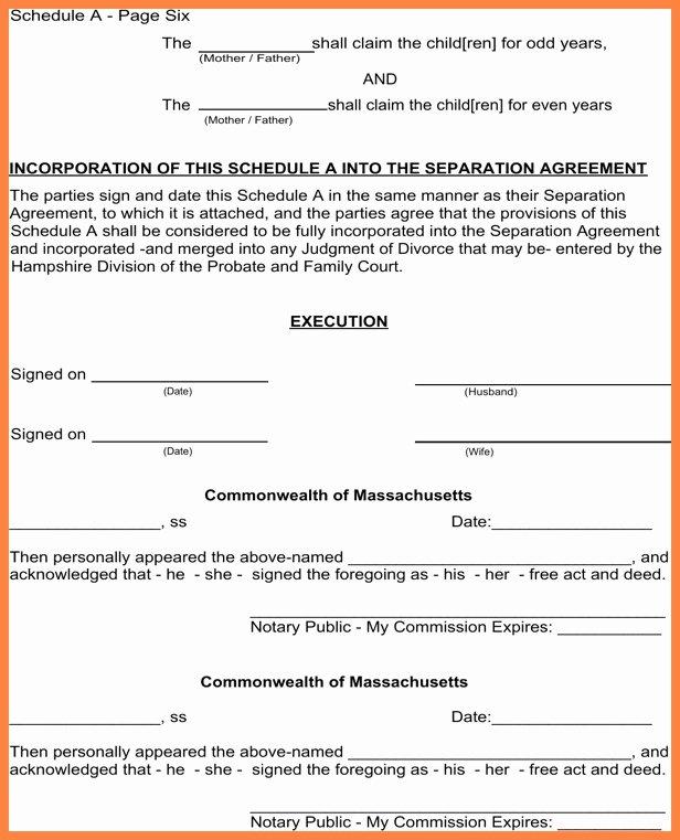 Notarized Custody Agreement Template Beautiful Notarized Custody Agreement Template Ideal Notarized