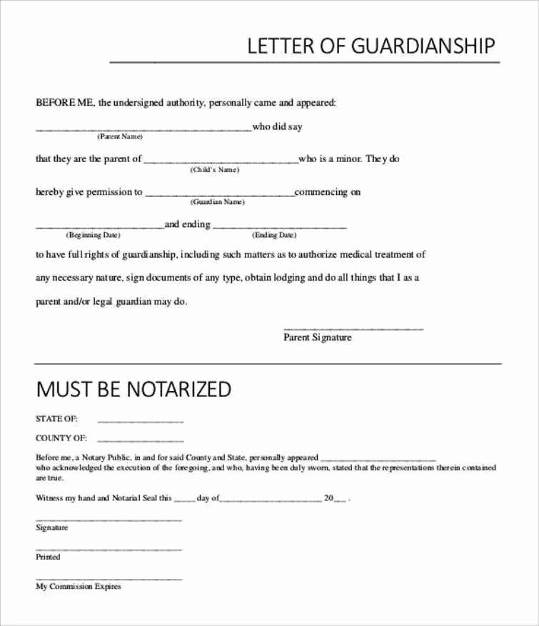 Notarized Custody Agreement Template Inspirational Notarized Custody Agreement Template Excellent How Do I