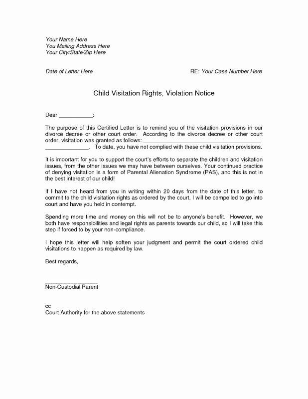 notarized custody agreement template