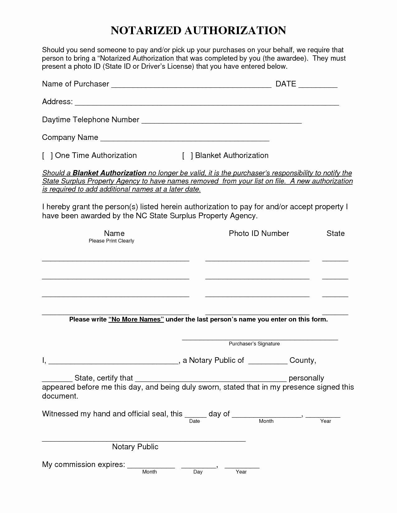 Notarized Custody Agreement Template Lovely Notarized Custody Agreement Template Special 11 Best Child