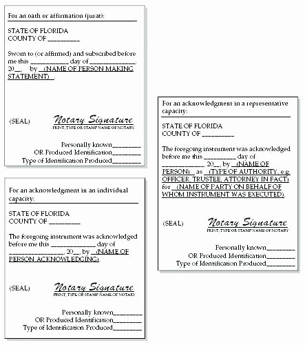 Notarized Letter Template Word Elegant Notary Signature Template Block Notarized Nebraska Texas