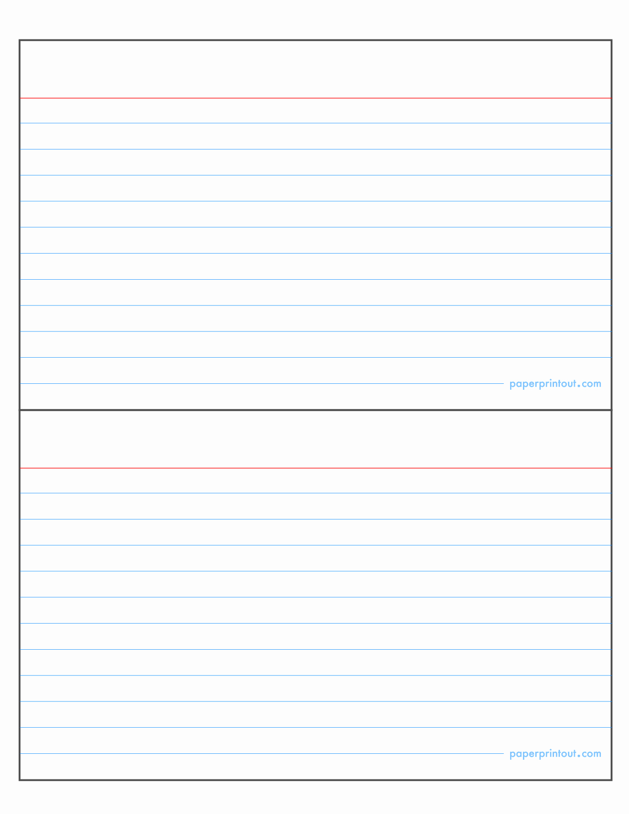 Note Card Template Free Awesome Index Card Template