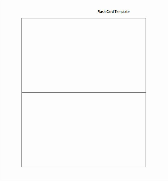 Note Card Template Free Best Of Sample Flash Card 12 Documents In Pdf