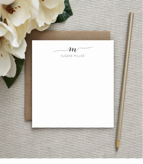 Note Card Template Free Lovely 15 Note Card Templates – Free Sample Example format
