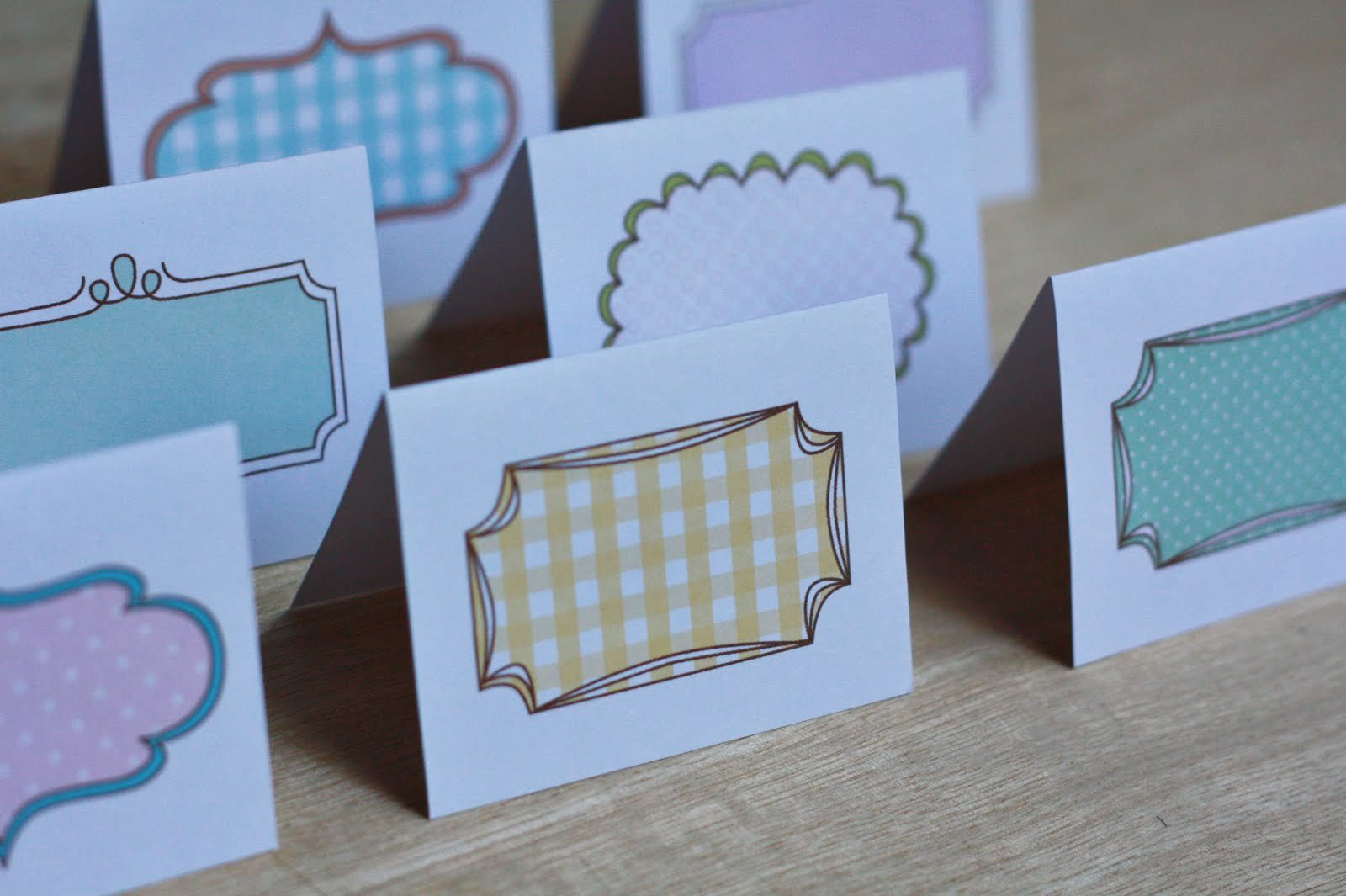 Note Card Template Free Unique Amy J Delightful Blog Printable Note Cards Place Cards