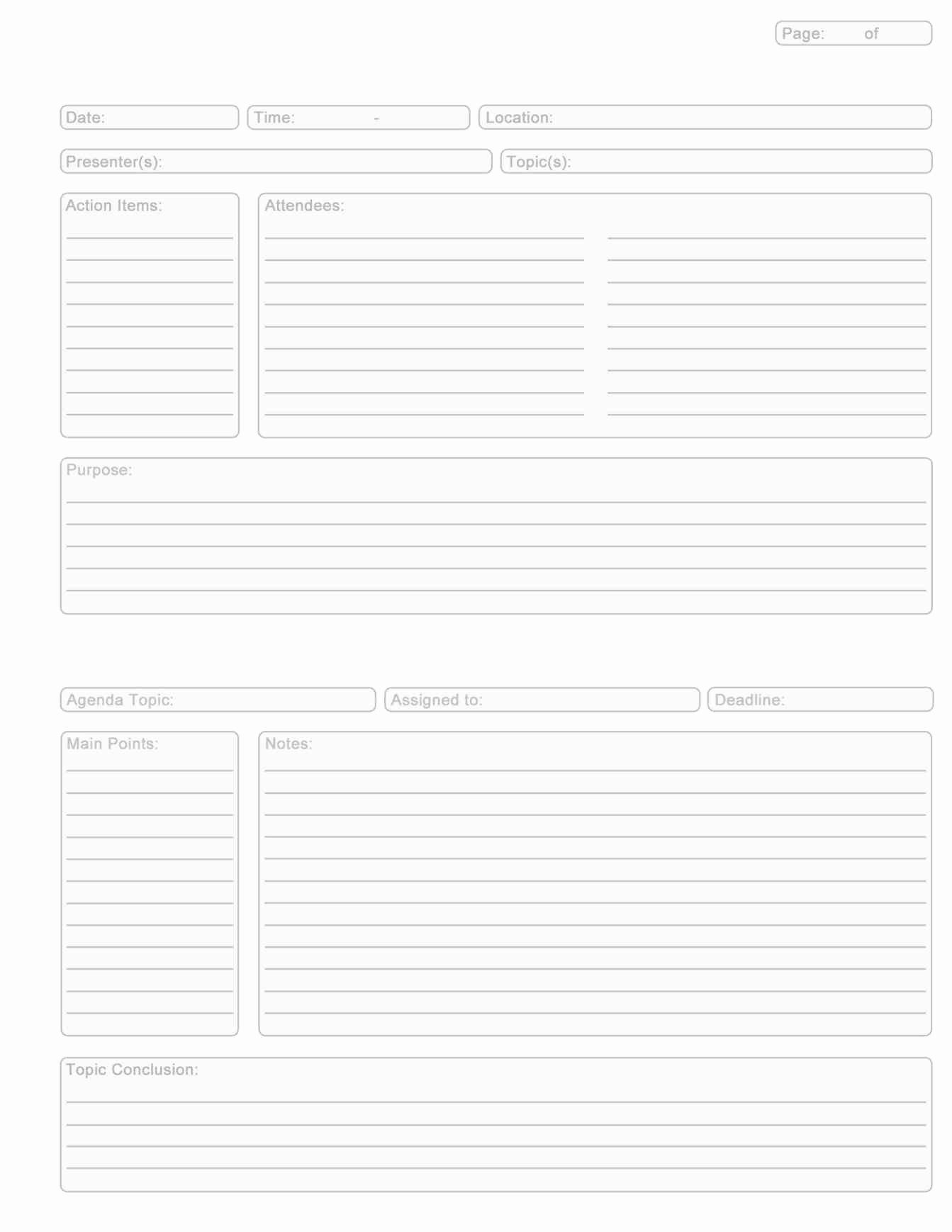 Note Taking Template Word Beautiful Microsoft Word Note Taking Template