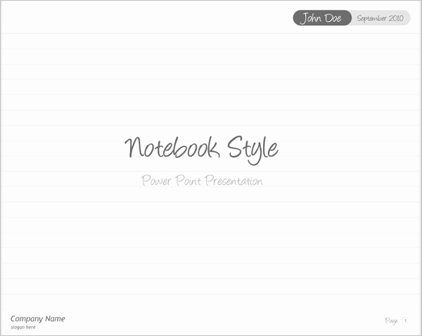 Notebook Template for Word Beautiful Notebook Templates Free Word Printable Pdf format