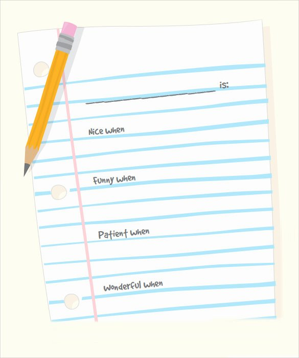 Notebook Template for Word New Notebook Paper 9 Download Documents In Pdf