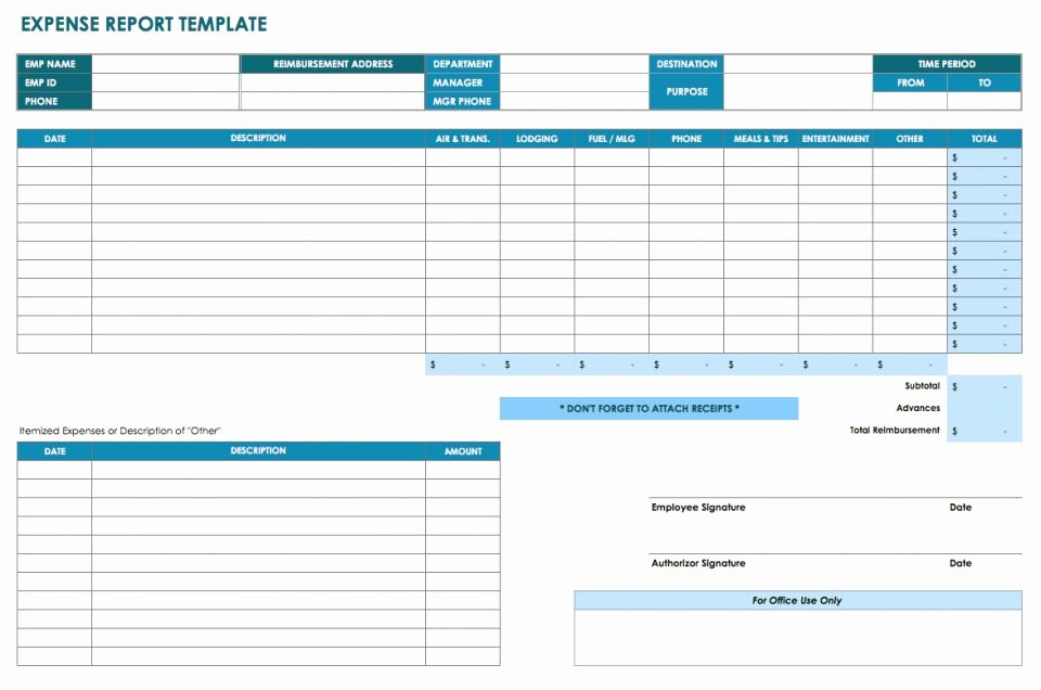 Numbers Expense Report Template Elegant 32 Free Excel Spreadsheet Templates