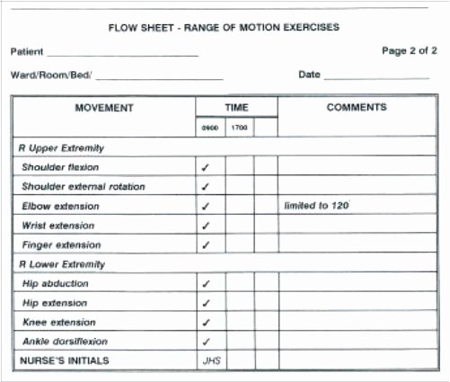 Nurse Flow Sheet Template Beautiful Nursing Report Sheet Template Library Flow Pdf Monster
