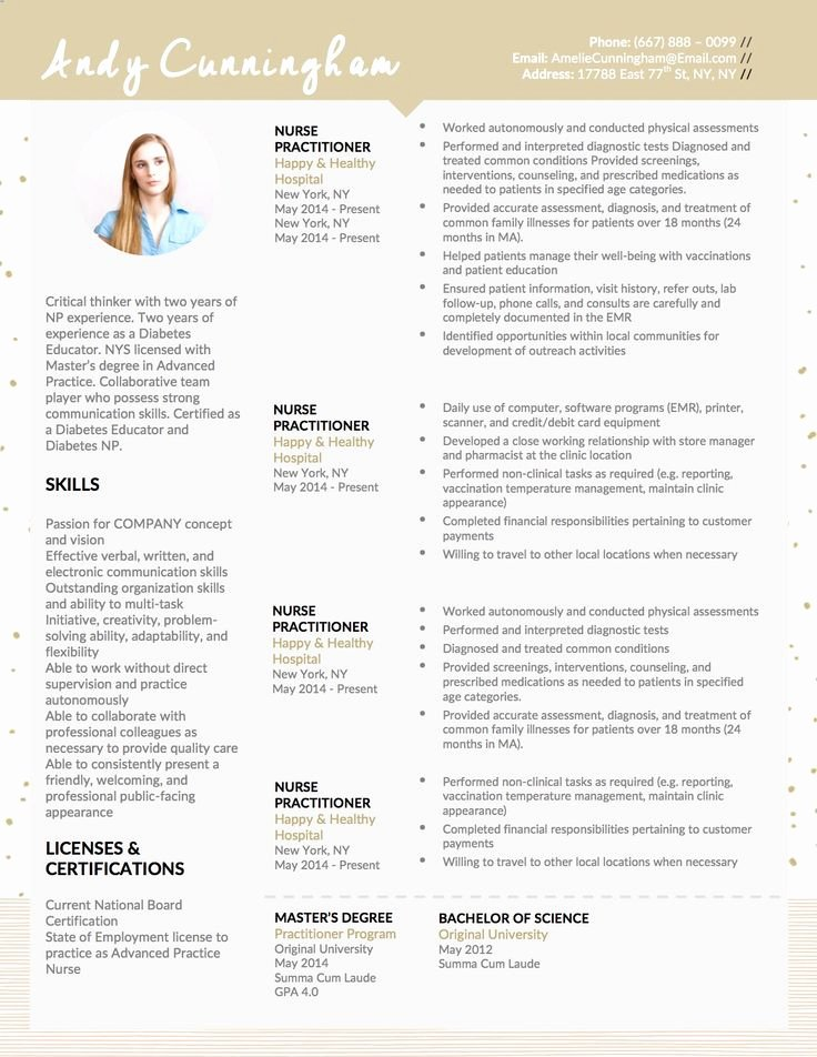 Nurse Practitioner Cv Template Inspirational 35 Best Career Advancement Images On Pinterest