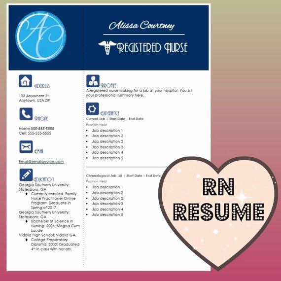 Nurse Resume Template Word Fresh 17 Best Images About Nursing Resumes On Pinterest