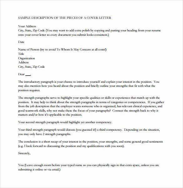 Nursing Cover Letter Template New 10 Nursing Cover Letters – Samples Examples & format