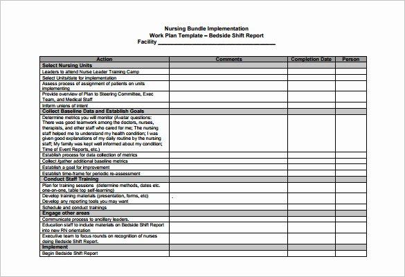 Nursing Staffing Plan Template Fresh 5 Nursing Schedule Templates Doc Excel Pdf