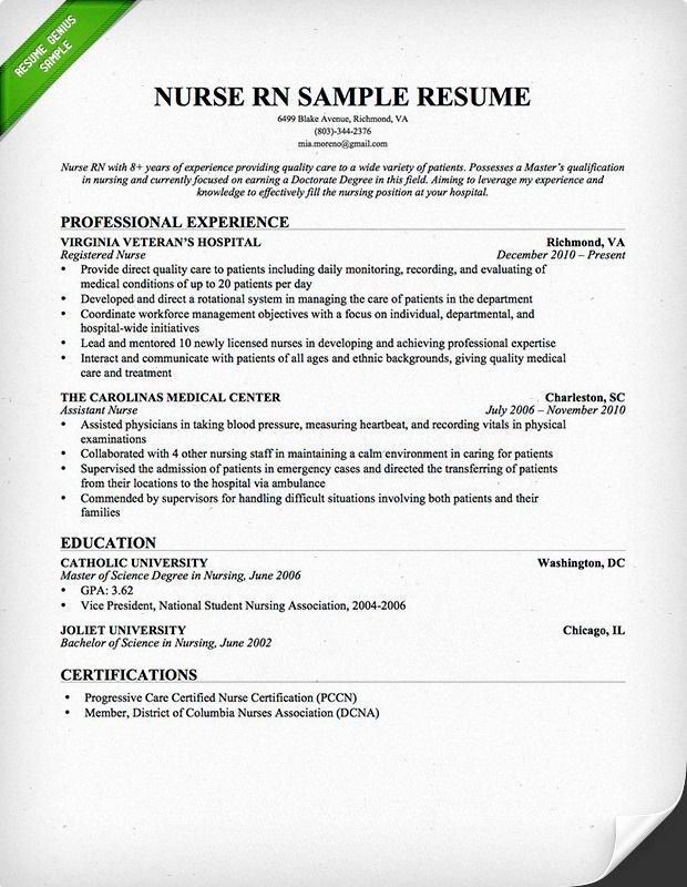 Nursing Student Resume Template Lovely Nurse Rn Resume Sample