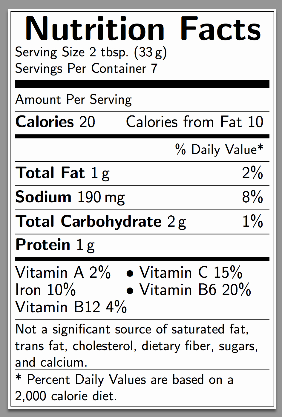 Nutrition Facts Label Template Best Of Diagrams How Can I Create A Nutrition Facts Label