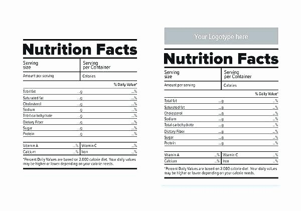Nutrition Facts Label Template Elegant Baby Shower Water Bottle Labels Nutrition Facts We Made