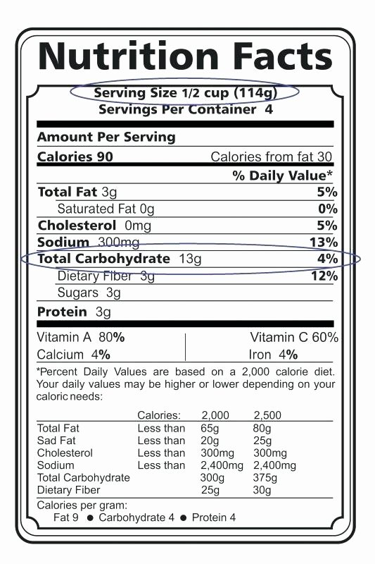 Nutrition Facts Template Word Beautiful Nutrition Facts Label Template – Hazstyle