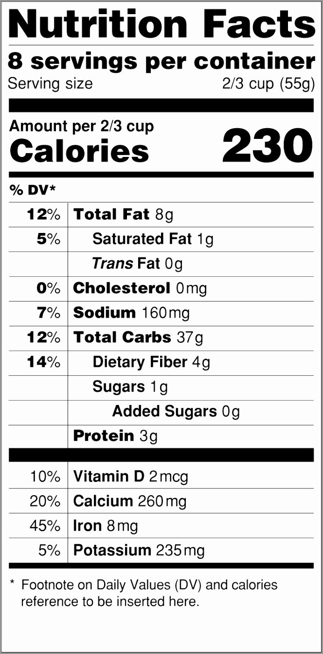 Nutrition Facts Template Word Lovely 10 Nutrition Facts Template Word Ioewr
