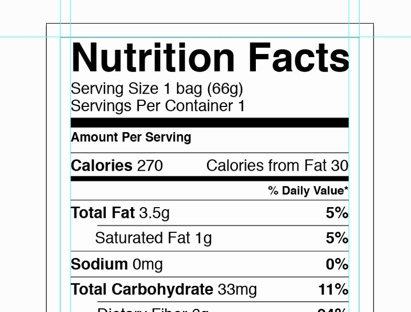 Nutrition Facts Template Word New Nutrition Label Template Word