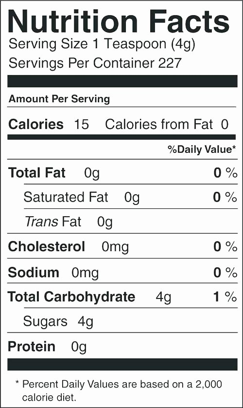 Nutrition Label Template Excel Awesome Nutrition Labels Template Facts Box – Hellotojoy