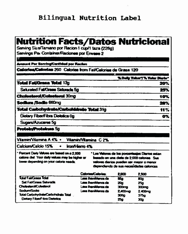 Nutrition Label Template Excel Best Of Blank Nutrition Label Template Excel Also Free Facts