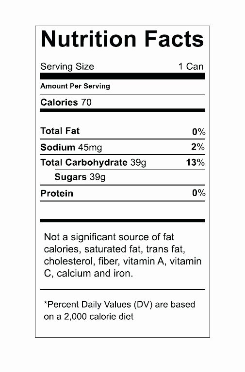 Nutrition Label Template Excel Unique Blank Nutrition Label Template Excel Also Free Facts