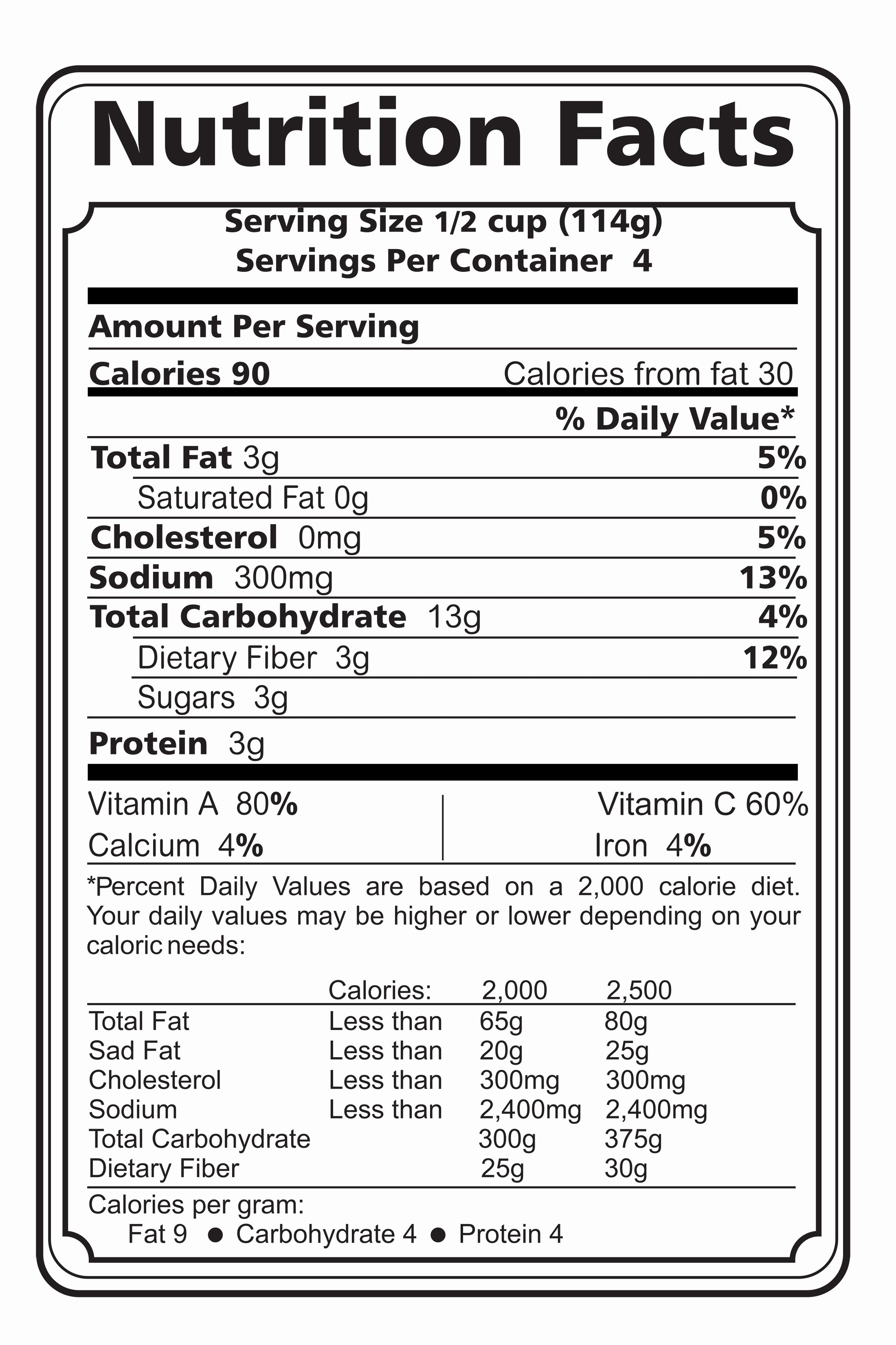Nutrition Label Template Free Best Of Nutrition Tips