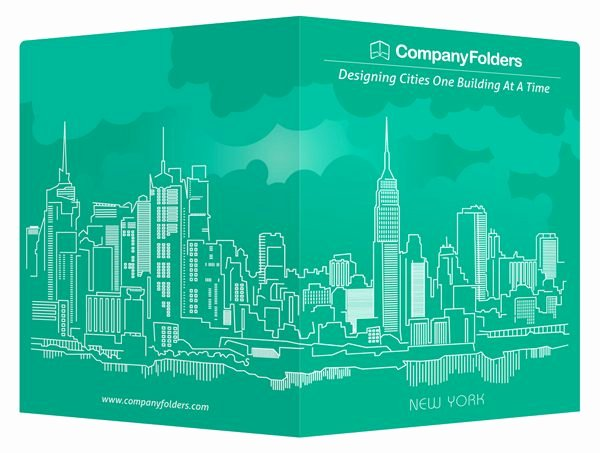Nyc Report Card Template Awesome New York City Folder Business Card & Postcard Template