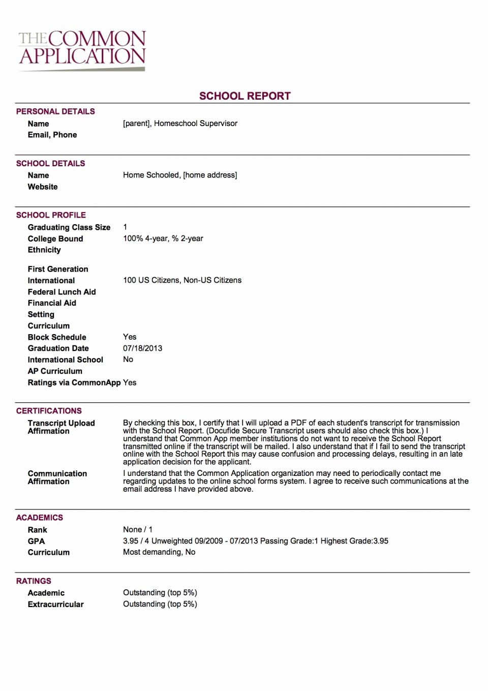 Nyc Report Card Template Lovely Ny Homeschool Quarterlyort Sample New York Example State