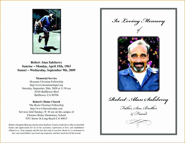 Obituary Template Google Docs New Free Funeral Program Template Download Flyer Mac Obituary