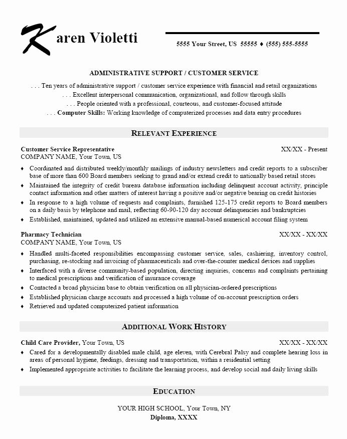 Office assistant Resume Template Beautiful Skills Based Resume Template Administrative assistant