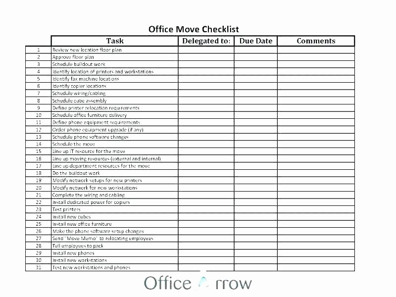 Office Cleaning Checklist Template Unique Free Fice Cleaning Checklist Templates Template Design