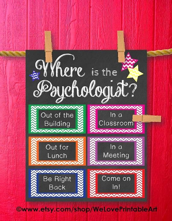 Office Door Sign Template Luxury School Psychology Gift Psychology Poster Gift for School