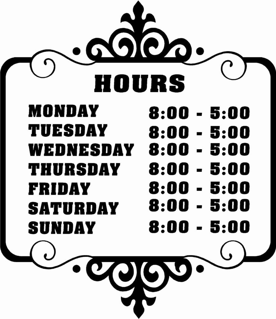 Office Hours Sign Template Elegant 6 Best Of Printable Fice Hours Sign Free