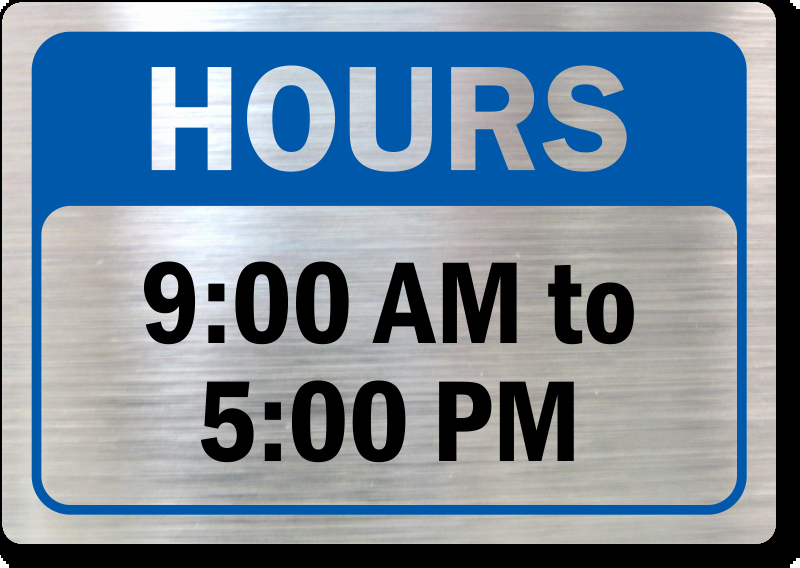 Office Hours Sign Template Elegant Business Hours Signs