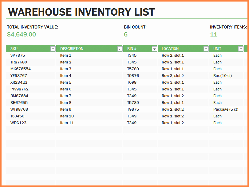 Office Supplies Inventory Template Elegant 10 Office Supply Spreadsheet