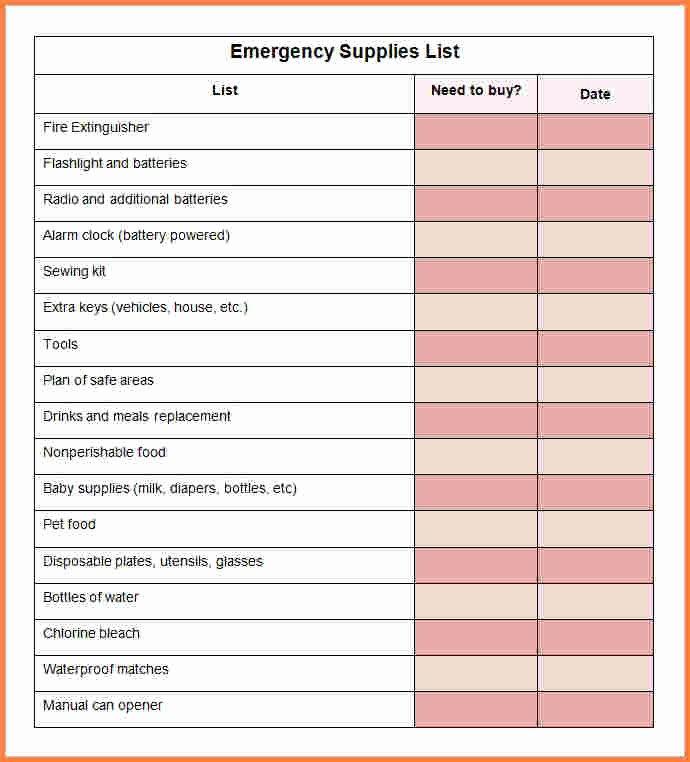 Office Supplies List Template Inspirational 10 Office Supply Spreadsheet