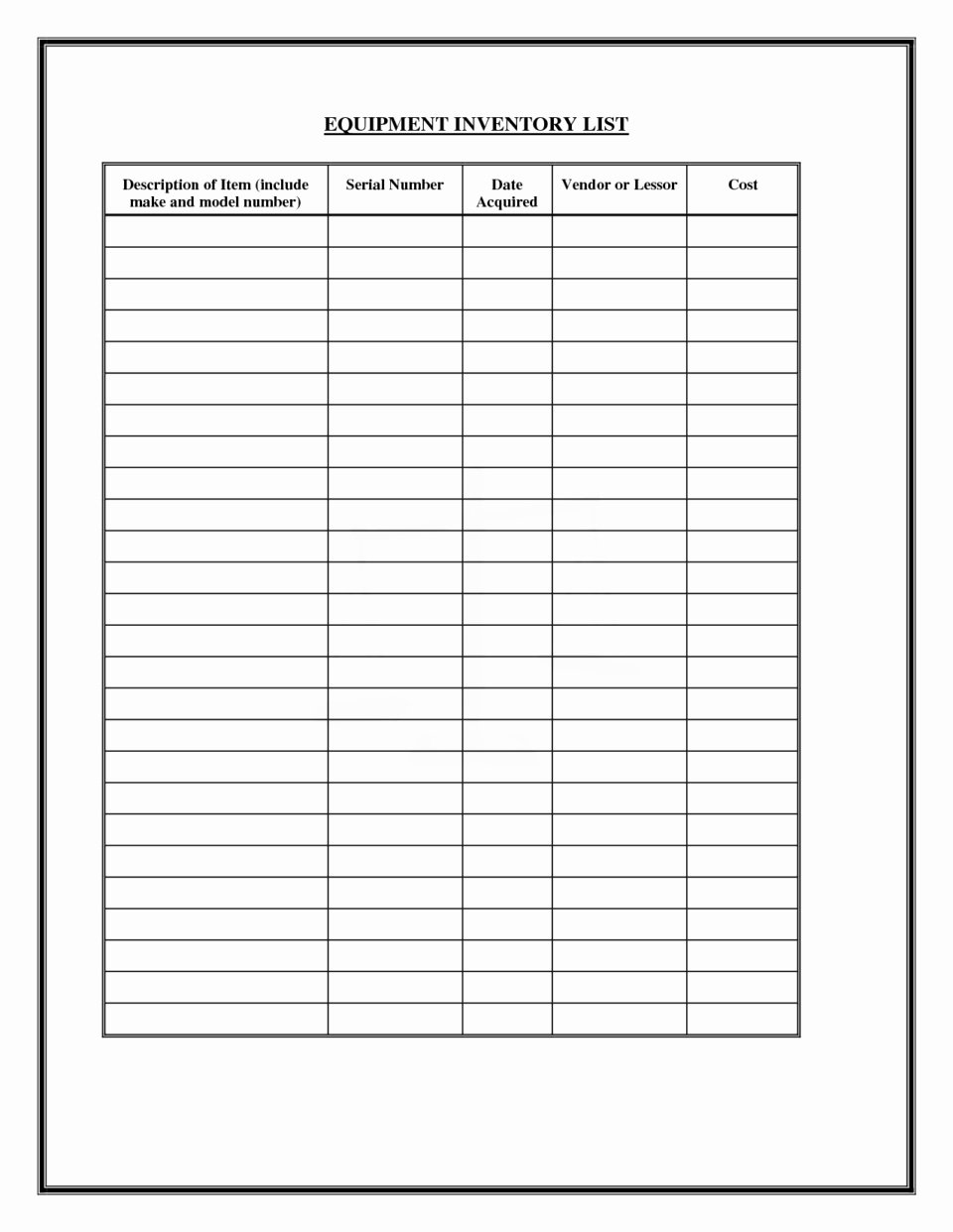Office Supply Checklist Template Best Of Fice Supply List Template
