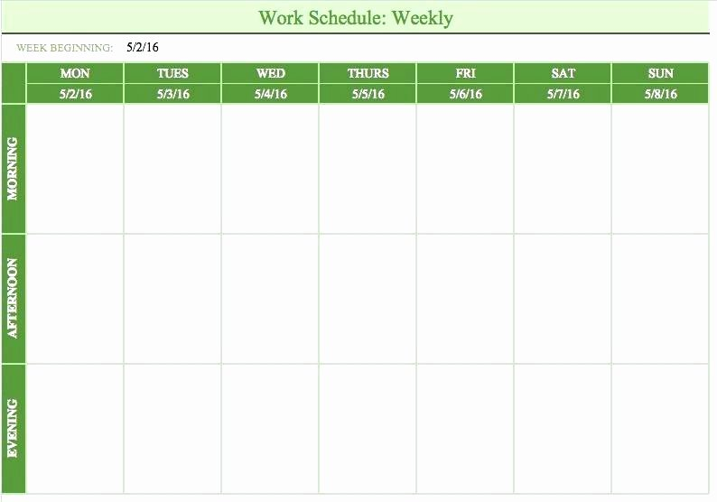 On Call Scheduling Template Awesome Call Schedule Template Work Roster Template Excel