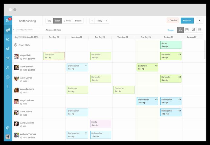 On Call Scheduling Template Beautiful Call Center Employee Scheduling software