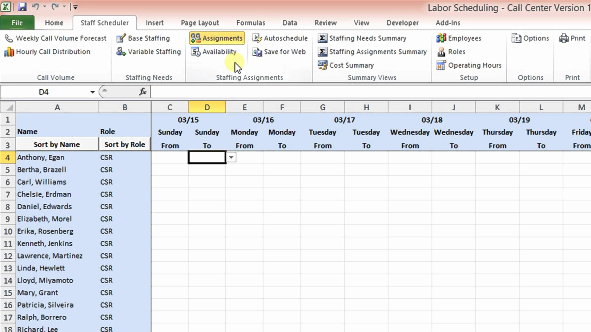 On Call Scheduling Template Lovely Call Schedule Template Excel