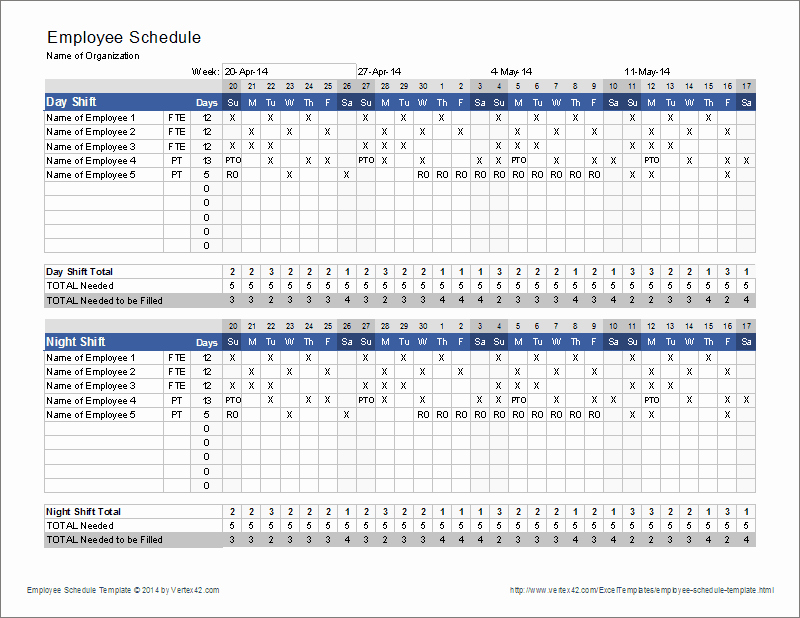 On Call Scheduling Template New Call Schedule Template Excel