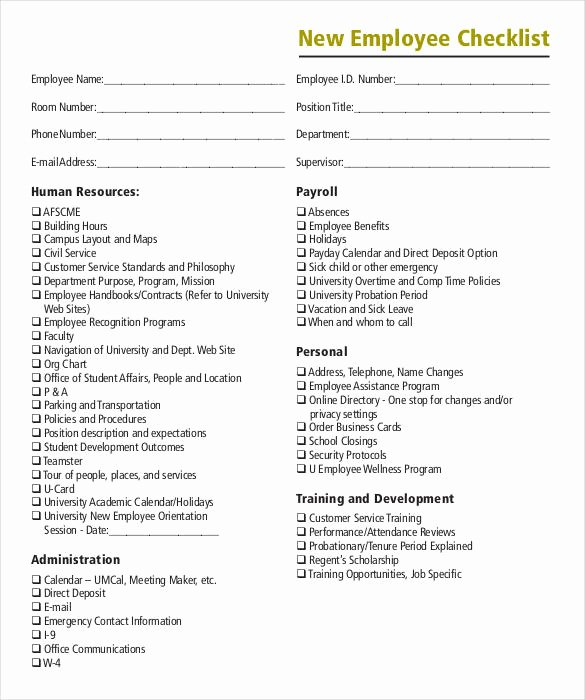 Onboarding Checklist Template Excel Lovely 8 Boarding Checklist Samples and Templates – Pdf Word