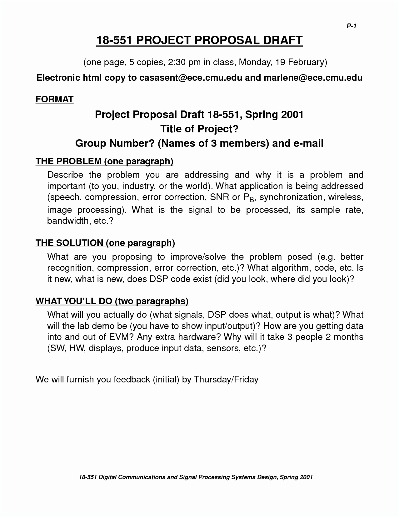One Page Proposal Template Beautiful E Page Proposal Template Business Proposal Templated